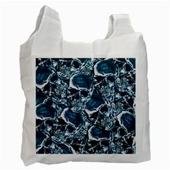 Skull Pattern Recycle Bag (two Side)