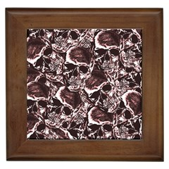 Skull Pattern Framed Tiles
