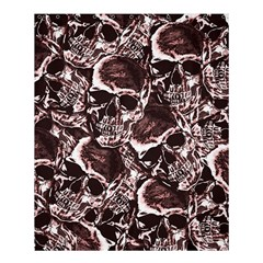 Skull pattern Shower Curtain 60  x 72  (Medium)