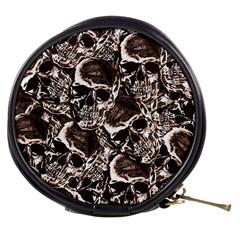Skull Pattern Mini Makeup Bags