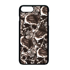 Skull Pattern Apple Iphone 7 Plus Seamless Case (black)