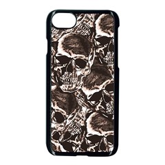 Skull Pattern Apple Iphone 7 Seamless Case (black)