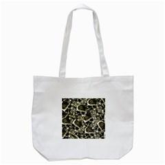 Skull Pattern Tote Bag (white)