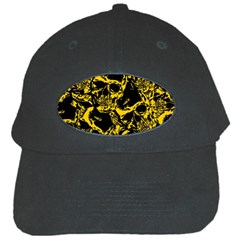 Skull Pattern Black Cap