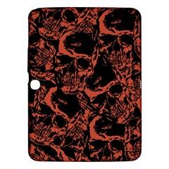 Skull pattern Samsung Galaxy Tab 3 (10.1 ) P5200 Hardshell Case