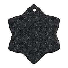 Floral Pattern Ornament (snowflake)