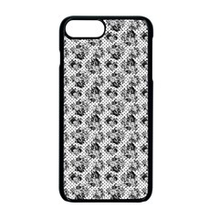 Floral Pattern Apple Iphone 7 Plus Seamless Case (black)