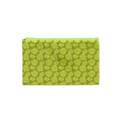 Floral Pattern Cosmetic Bag (xs)