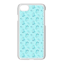 Floral Pattern Apple Iphone 7 Seamless Case (white)