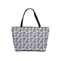 Floral Pattern Shoulder Handbags