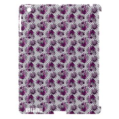 Floral Pattern Apple Ipad 3/4 Hardshell Case (compatible With Smart Cover)