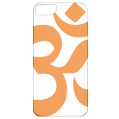 Hindu Om Symbol (Sandy Brown) Apple iPhone 5 Classic Hardshell Case