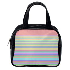 All Ratios Color Rainbow Pink Yellow Blue Green Classic Handbags (One Side)