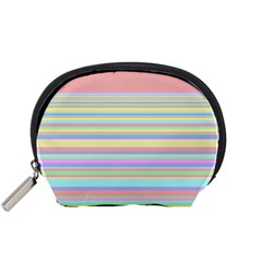 All Ratios Color Rainbow Pink Yellow Blue Green Accessory Pouches (small)