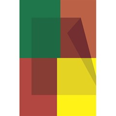 Albers Out Plaid Green Pink Yellow Red Line 5 5  X 8 5  Notebooks