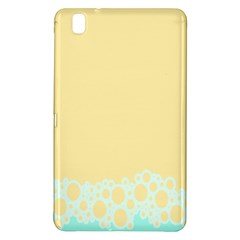 Bubbles Yellow Blue White Polka Samsung Galaxy Tab Pro 8.4 Hardshell Case