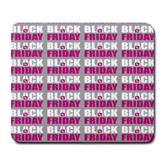 Black Friday Sale White Pink Disc Large Mousepads