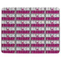 Black Friday Sale White Pink Disc Jigsaw Puzzle Photo Stand (rectangular)