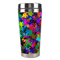 Flowersfloral Star Rainbow Stainless Steel Travel Tumblers