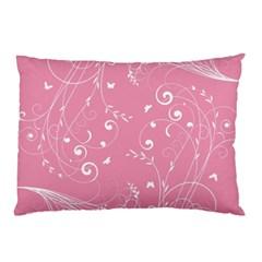 Floral Design Pillow Case