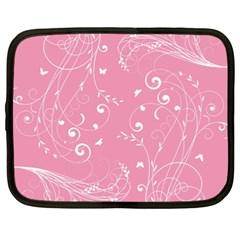 Floral Design Netbook Case (xxl)