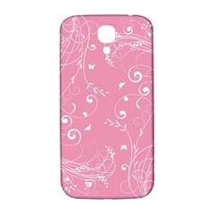 Floral design Samsung Galaxy S4 I9500/I9505  Hardshell Back Case