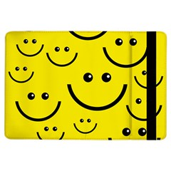 Linus Smileys Face Cute Yellow Ipad Air Flip