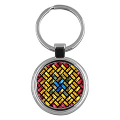 Metal rectangles            Key Chain (Round)