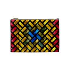 Metal rectangles            Cosmetic Bag