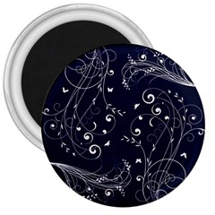 Floral Design 3  Magnets