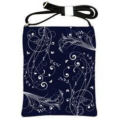 Floral Design Shoulder Sling Bags