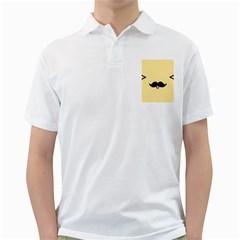 Mustache Golf Shirts