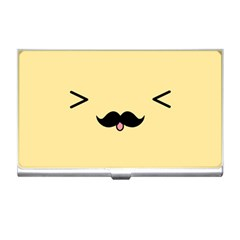 Mustache Business Card Holders