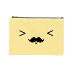 Mustache Cosmetic Bag (large)