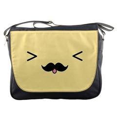 Mustache Messenger Bags