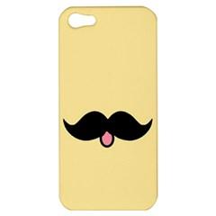 Mustache Apple Iphone 5 Hardshell Case