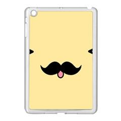 Mustache Apple Ipad Mini Case (white)