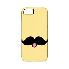 Mustache Apple iPhone 5 Classic Hardshell Case (PC+Silicone)