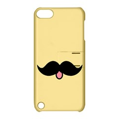 Mustache Apple Ipod Touch 5 Hardshell Case With Stand