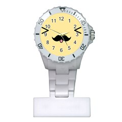 Mustache Plastic Nurses Watch