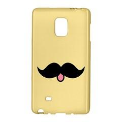 Mustache Galaxy Note Edge