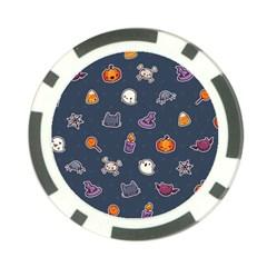 Kawaiieen Pattern Poker Chip Card Guard (10 Pack)