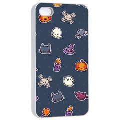 Kawaiieen Pattern Apple Iphone 4/4s Seamless Case (white)