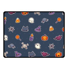 Kawaiieen Pattern Double Sided Fleece Blanket (small)