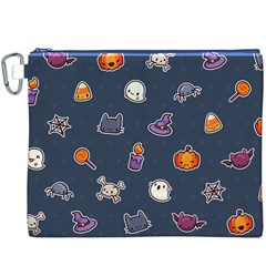 Kawaiieen Pattern Canvas Cosmetic Bag (xxxl)