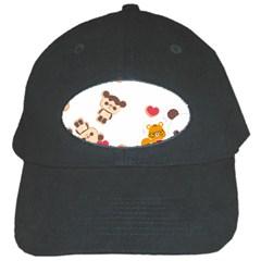 Chocopa Panda Black Cap