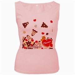 Chocopa Panda Women s Pink Tank Top