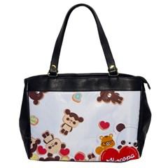 Chocopa Panda Office Handbags
