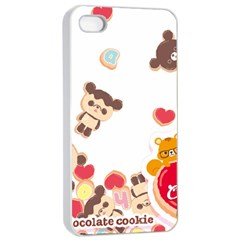 Chocopa Panda Apple iPhone 4/4s Seamless Case (White)