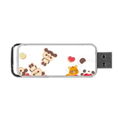 Chocopa Panda Portable USB Flash (One Side)